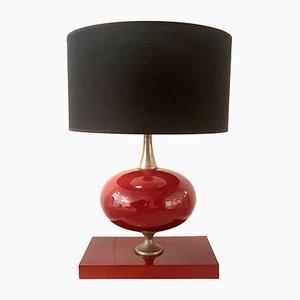 Lámpara de mesa vintage de Philippe Barbier para Maison Barbier Paris, años 70