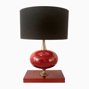 Vintage Table Lamp by Philippe Barbier for Maison Barbier Paris, 1970s