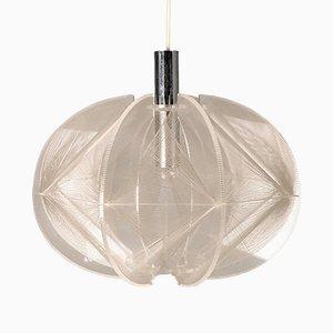 Lampe à Suspension Swag Vintage par Paul Secon pour Sompex