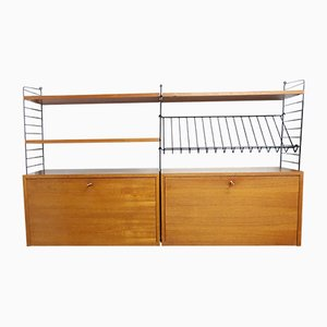 Wall Unit by Kajsa & Nils Strinning for String, 1960s