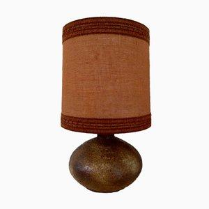 Sesame Vallauris Ceramic Table Lamp, 1970s