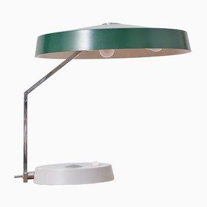 Lámpara de escritorio vintage con pantalla flexible