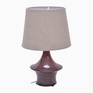 Lámpara de mesa vintage de cerámica de Søholm Stentoj