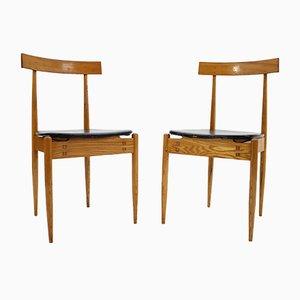 Esszimmerstühle von Alan Fuchs für ULUV, 1964, 2er Set
