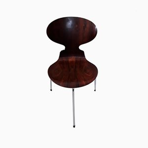 Chaises Ant à 3 Pieds Vintage par Arne Jacobsen pour Fritz Hansen, Set de 4