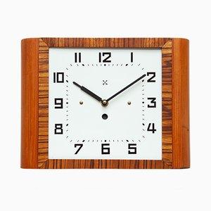 Art Deco Wall Clock from Pfeilkreuz, 1940s