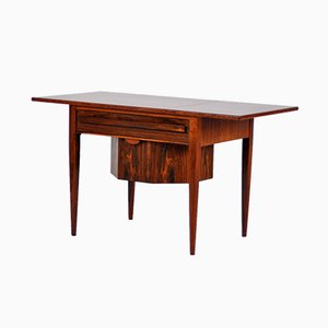 Rosewood Sewing Table by Johannes Andersen for CFC Silkeborg, 1965