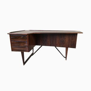 Vintage Rosewood Writing Desk by Peter Løvig Nielsen for Hedensted Møbelfabrik