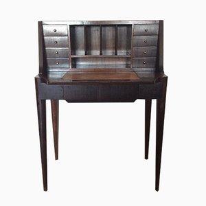 Italienischer Vintage Schreibtisch aus Palisander