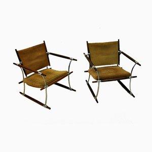 Chaises Stokke par Jens Quistgaard pour Nissen, Danemark, 1960s, Set de 2