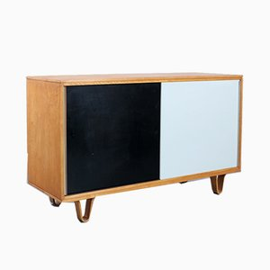 DB-51 Series Combex Black & White Birch Cabinet by Cees Braakman for Pastoe, 1950s