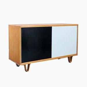 Mueble DB-51 serie Combex de abedul negro y blanco de Cees Braakman para Pastoe, años 50