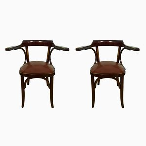 German Side Chairs, 1930s, Set of 2