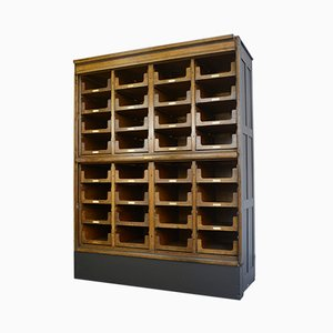 Mueble de mercería antiguo de E. Pollard & Co, años 10