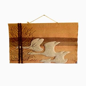 French Wall Tapestry from Creation Losange, 1970s