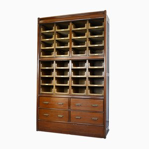 Large Antique Haberdashery Cabinet from E Pollard & Co, 1910s