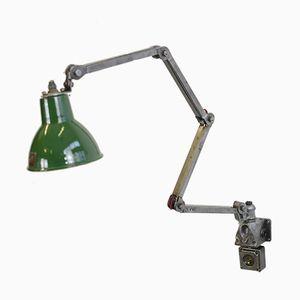 Lámpara de trabajo de pared de Maxlume, años 30