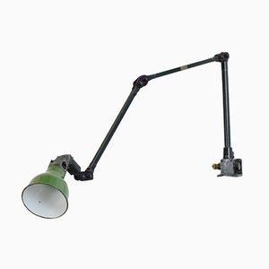 Industrielle Wandlampe von Mek Elek, 1930er