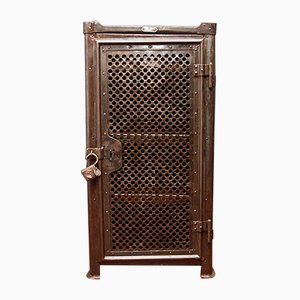 Perforated Metal Tool Cabinet from Rowac, 1920s