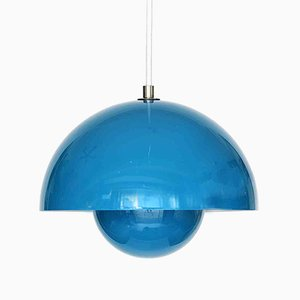 Danish Flowerpot Pendant Lamp by Verner Panton for & Tradition, 1980s