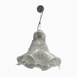 Italienische Mid-Century Deckenlampe aus Muranoglas, 1960er