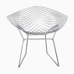 Sedia Diamond 421 di Harry Bertoia per Knoll International, anni '80