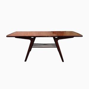 Tavolino da caffè di Louis van Teeffelen per Wébé, anni '50