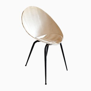 Chaise Shell Vintage Mid-Century