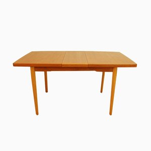 Mid-Century Danish Teak Extending Dining Table, 1960s
