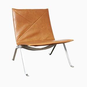 PK22 Stuhl von Poul Kjærholm für E. Kold Christensen, 1960er