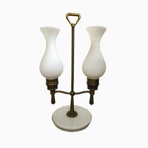 Lámpara de mesa italiana Mid-Century de Arredoluce