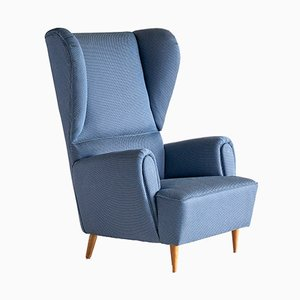 High Wingback Armchair by Paolo Buffa, 1940s