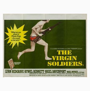 Vintage The Virgin Soldiers Filmplakat von John Stockle, 1960er