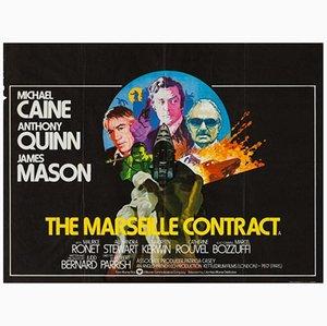 Affiche de Film The Marseille Contract Vintage, 1970s
