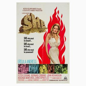 Vintage She Movie Poster, 1960s