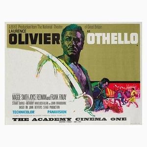 Póster vintage de la película Otelo, años 60