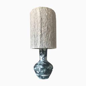 Lampada da tavolo vintage in ceramica di Jacques Blin, anni '60