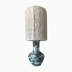 Vintage Ceramic Table Lamp by Jacques Blin, 1960s