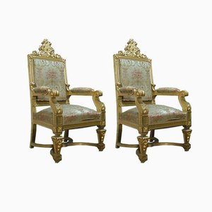 Antique Armchairs, Set of 2