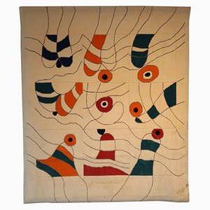 Wall-Mounted Rug by Jan Snoeck, 1990s