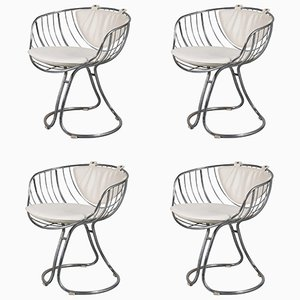 Pan Am Armchairs, 1960s, Set of 4