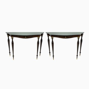 Mid-Century Italian Neo-Classical Console Table, 1950s