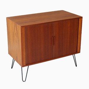 Small Teak Cabinet by Kai Kristiansen for Feldballes Møbelfabrik, 1960s