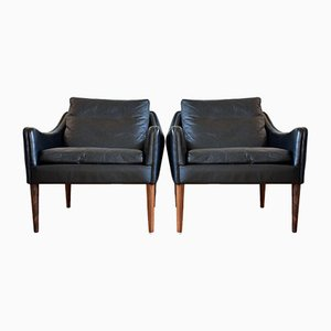 Danish Model 800 Lounge Chairs by Hans Olsen for CS Møbler, 1958, Set of 2