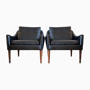 Danish Model 800 Lounge Chairs by Hans Olsen for CS Møbler, 1958, Set of 2
