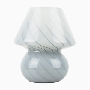 Italienische Mushroom Tischlampe aus Muranoglas von Gambaro e Poggi für Vetri, 1970er