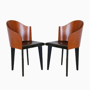 Toscana Chairs by Piero Sartogo and Nathalie Grenon for Saporiti Italia, 1980s, Set of 2