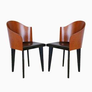 Toscana Stühle von Piero Sartogo & Nathalie Grenon für Saporiti Italia, 1980er, 2er Set