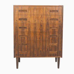 Danish Rosewood Chest of Drawers from P. Westergaard Mobelfabrik, 1960s
