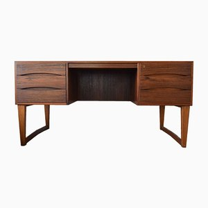 Rosewood Executive Desk by Arne Vodder for Sibast, 1960s